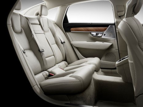 Interior Rear Seats Volvo S90