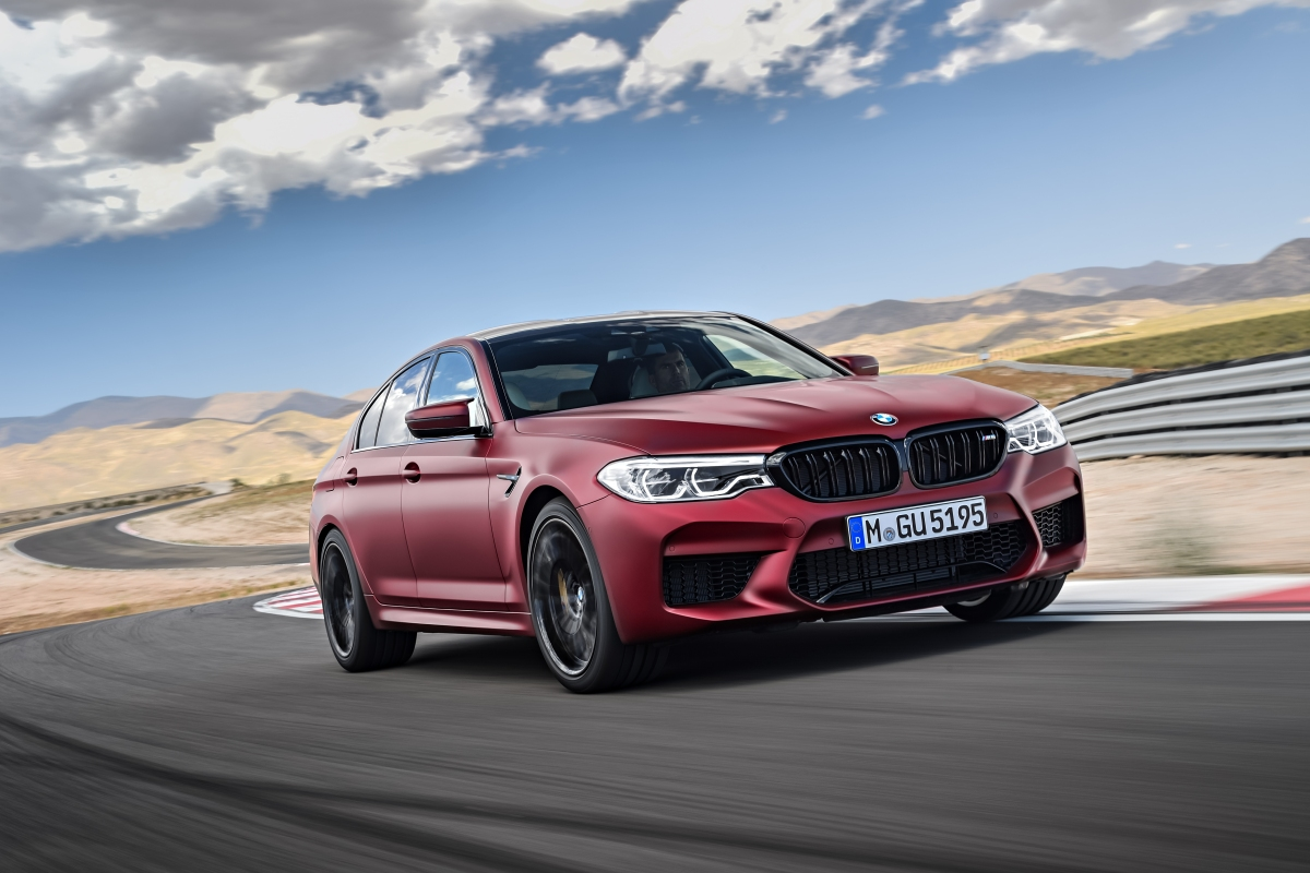 BMW Finally Reveals The New M5, And It's A Beauty.